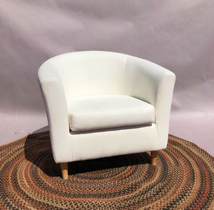 Modern Ikea Tullsta Sofa Arm Chair w Slipcover for Sale in Whittier, CA