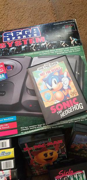 Vintage Sega Genesis Sega CD System + games complete price firm for Sale in Las Vegas, NV