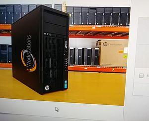 HP Z230 Intel core i5-4670 NVIDIA QUADRO K600 HDD 1 TB for Sale in Jacksonville, FL
