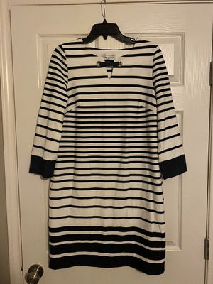 NAVY BLUE AND WHITE STRIPPED DRESS for Sale in Houston, TX