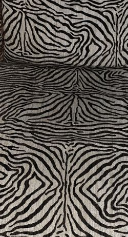 Beautiful Zebra 🦓 Sofa for Sale in Gainesville,  VA