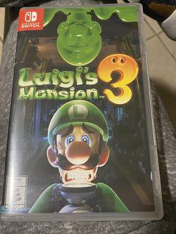 Nintendo Switch Luigi's Mansion for Sale in Miami,  FL
