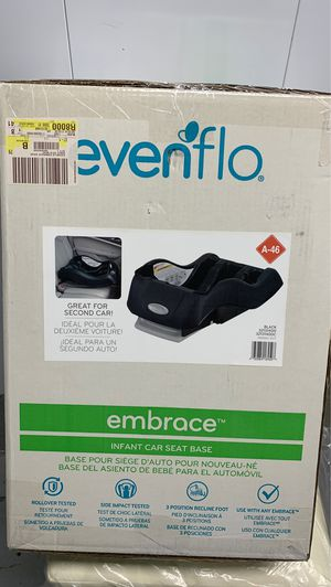 Evenflow Embrace Infant Car Seat Base for Sale in Milwaukee, WI