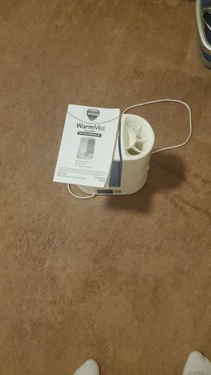 Warm mist humidifier for Sale in Yelm, WA