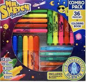BACK TO SCHOOL! NIB 36 piece Mr Sketch Scented Marker Combo Pack for Sale in Charlotte, NC