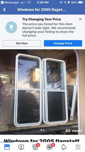 Windows for travel trailer for Sale in St. Petersburg, FL