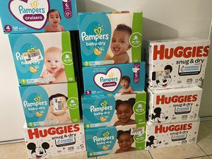New Diapers Big Box for Sale in Los Angeles, CA