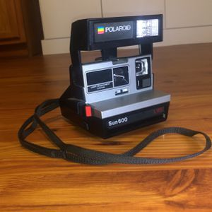 vintage polaroid camera sun600 for Sale in Chesapeake, VA