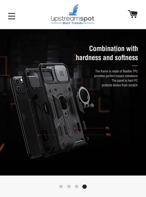 New iPhone 11 Pro Max case and screen protector