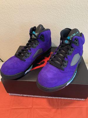 Nike Air Jordan Retro 5 Grape Size 10.5 for Sale in Lake Elsinore, CA