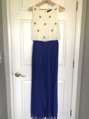 Spring Dress Blue Wide Pants Size 6 for Sale in Herndon, VA
