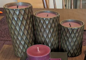 Partylite candle holders 3-pc set for Sale in Springfield, MA