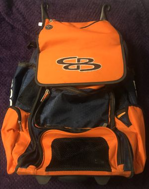 Boombah Rolling Baseball / Softball Bat Bag for Sale in Hacienda Heights, CA