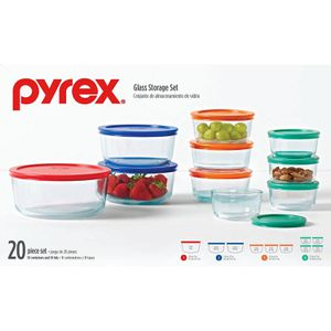 New in Box Pyrex Food Storage Containers Set Glass BPA Free for Sale in Las Vegas, NV