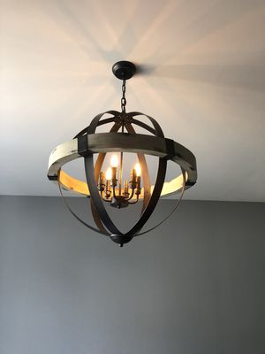 New LOW PRICE!vintage style rustic chandeliers for Sale in Springfield, PA