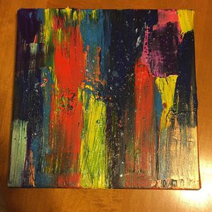 "Abstract Art piece! 8in"" by 10in"" 100$ for Sale in San Diego, CA"