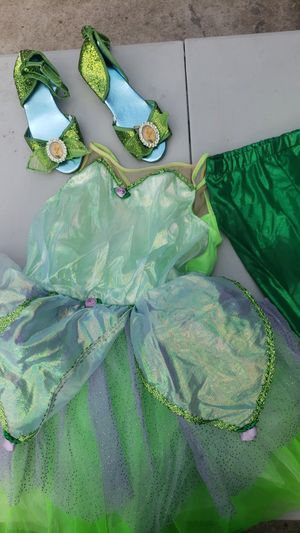 Tinkerbell costume kids size 4-6 for Sale in Wilmington, CA
