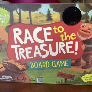 Race To The Treasure Board Game for Sale in Columbia, MD