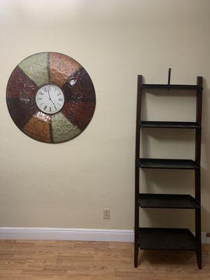 Shelf in espresso wood for Sale in Medley, FL