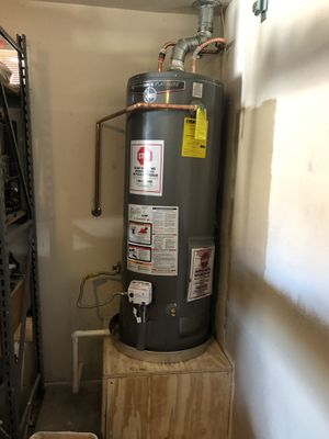 Water heater install $150.00 pick up and delivery available for Sale in Phoenix, AZ