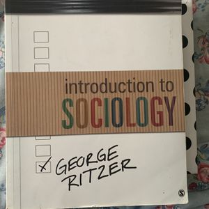 Introduction to sociology by George Ritzer for Sale in Oakland, CA