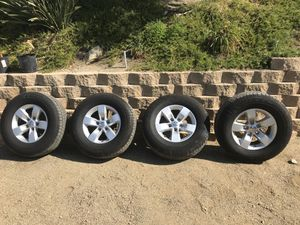 2019 Ram 1500 Wheels (5000 miles on new tires) for Sale in Orange, CA