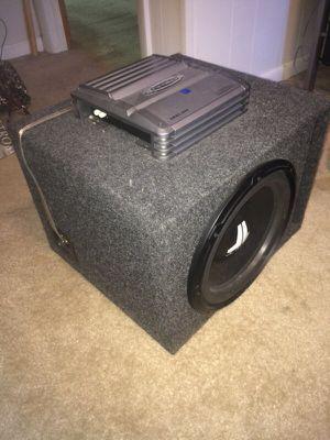 JL audio sub plus nitro amp for Sale in Fairmont, WV