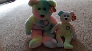 Rare set of big and small TY Beanie Baby B.B Bears for Sale in Kent, WA
