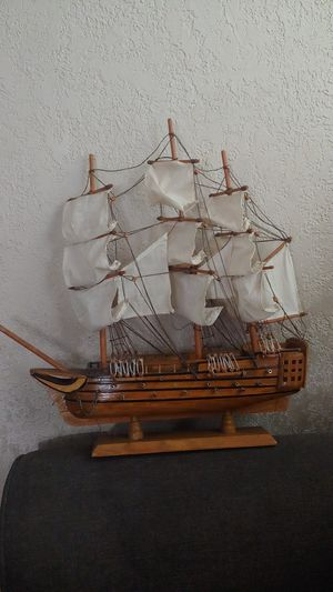 Wooden sailboat model for Sale in Anaheim, CA