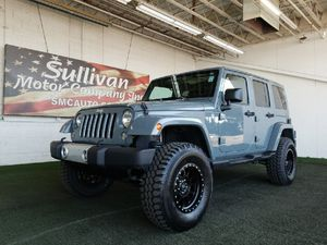 2015 Jeep Wrangler Unlimited for Sale in Mesa, AZ