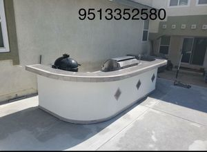 Outdoor BBQ Island barbecue Grill patio furniture Cocina bar Bar-B-Que barbecue for Sale in Riverside, CA