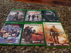Xbox one games lot, 6 games for Sale in Portland, OR