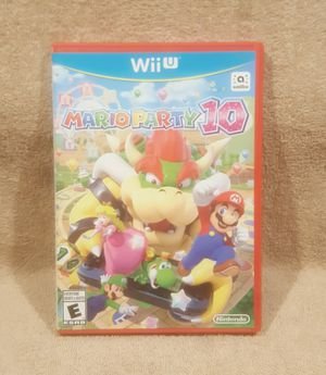 *GR8 STOCKING STUFFER*MARIO PARTY 10 WII U for Sale in Tucson, AZ