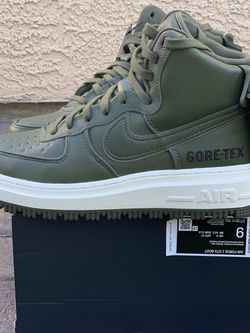 Nike Air Force 1 High GTX Gore-Tex Boot Olive Green Men's Size 9 for Sale in Las Vegas,  NV