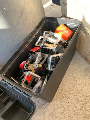 Box full of GoPro accessories for Sale in Plant City, FL