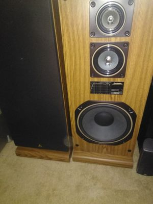 Sansui speakers , marantz sr4000 stereo duel turntable for Sale in Port St. Lucie, FL