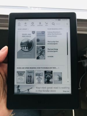 "Kindle E-reader (Generation 8th) Black, 6"" display, Wi-fi, Built in Audible. for Sale in Durham, NC"