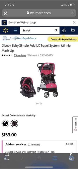 Minni Mouse Car Seat & Stroller for Sale in Kentwood, MI