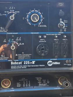 Miller Bobcat Generator Welder for Sale in Covina,  CA