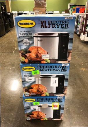 XL Deep Fryers X OM1 for Sale in Dallas, TX