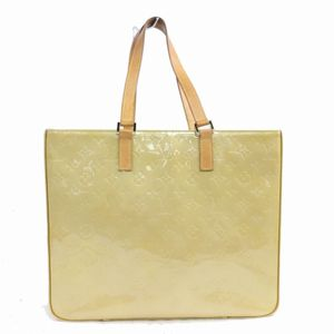 Authentic Louis Vuitton Columbus M91047 Yellow Vernis Tote Bag 11298 for Sale in Plano, TX