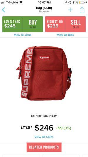 Supreme Shoulder Bag SS18 (Red) for Sale in Beaverton, OR