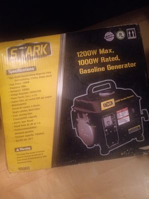 Generator new inbox 1200 w for Sale in New Haven, CT