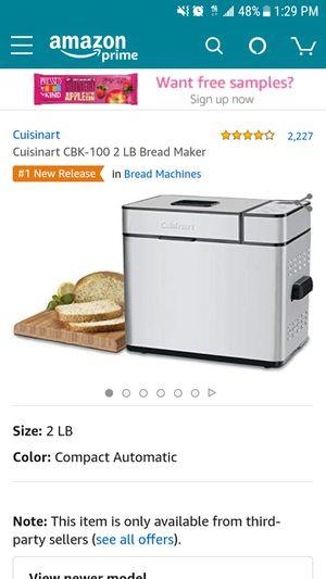 Brand new bread maker for Sale in Tavares, FL
