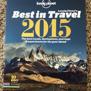 Lonely Planet Best In Travel 2015 for Sale in Portland, OR