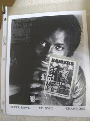Lester Hayes signature for Sale in Temecula, CA