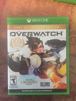Overwatch for Xbox One for Sale in San Diego, CA