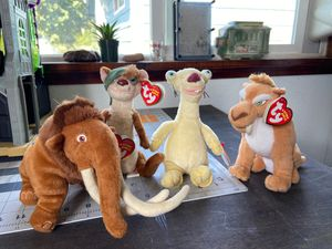 Ice Age Beanie Babies for Sale in Sumner, WA