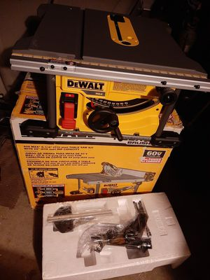 Dewalt 60v max table saw new TOOL ONLY price is firm no lowballers no trades for Sale in Fontana, CA
