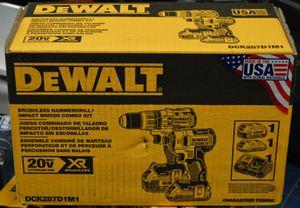 Dewalt 20V XR Brushless 2&4Ah Combo set -NEW- for Sale in Seattle, WA
